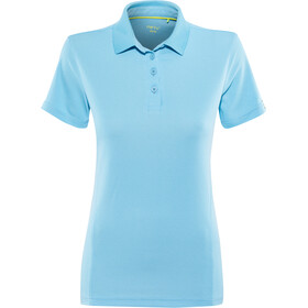 Meru Wembley Functional Polo Shirt Women ethereal blue